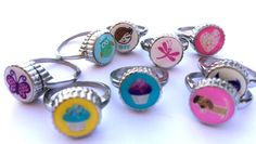 Kids rings stainless steel non-changeable kids by SweetieTops