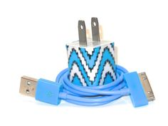 Blue Peak iPhone Charger with Color USB Lightening Cable - Available for all Cell Phone Types $17.00