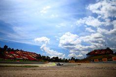 On Track with Felipe Massa Piloting the  Williams Martini Racing Williams FW38 ahead of the Spanish 2016 #F1 #SpanishGP