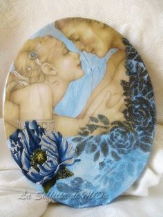 Decoupage, Painting, Painting Art, Paintings, Painted Canvas