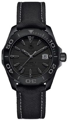 TAG Heuer Watch Aquaracer 300M Calibre 5 Phantom #bezel-unidirectional #bracelet-strap-synthetic #brand-tag-heuer #case-material-black-pvd #date-yes #delivery-timescale-call-us #description-done #dial-colour-black #gender-mens #luxury #movement-automatic #official-stockist-for-tag-heuer-watches #packaging-tag-heuer-watch-packaging #style-sports #subcat-aquaracer #supplier-model-no-way218b-fc6364 #warranty-tag-heuer-official-2-year-guarantee #water-resistant-300m