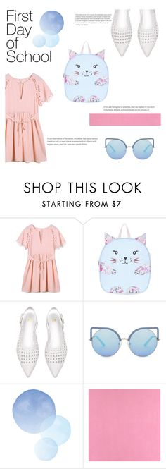 """""""Sweet first Day"""" by janicevc ❤ liked on Polyvore featuring Monsoon, Matthew Williamson and Casadeco"""