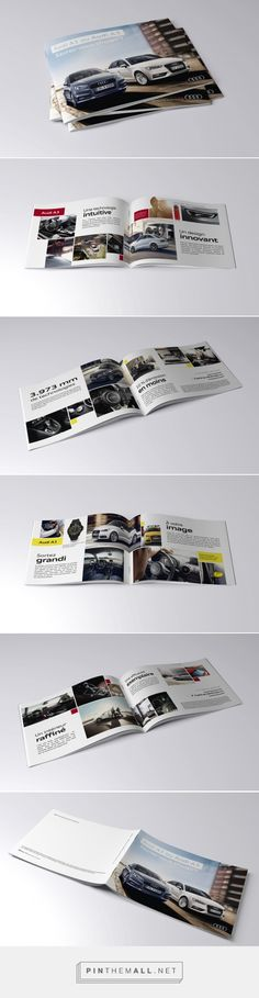 Brochure // Audi   Pauline Gueuning, Graphic designer http://enylua.webaction.be