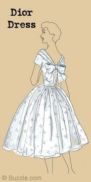Dior dress  50's