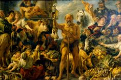Una pizca de Cine, Música, Historia y Arte: Diógenes y los ladrones