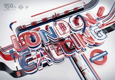 Typography 11. by Peter Tarka, via Behance Another typography design by Peter Tarka. I can't help it! The color is just so cool! The font is really awesome, and the layout reminds me of an English... car? I think? The incorperation of the Union Jack in the design was what really caught my eye though.