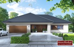 Проект дома Goliat III , wizualizacja 1