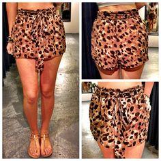 Really cute animal print shorts