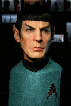 Lifelike Mr. Spock Sculpture on http://www.drlima.net