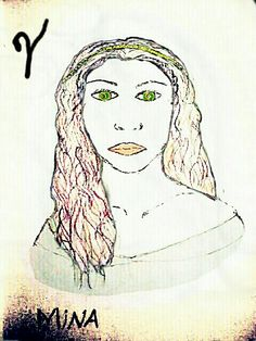 Another sketch by Emily. Colored by me