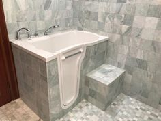 Strategy, secrets, furthermore quick guide with regard to obtaining the very best outcome and also attaining the max utilization of walk in shower remodel Shower Tile, Bathtub Shower Combo, Shower Tub, Shower Stall, Walk In Tubs, Small Bathroom, Refinish Bathtub, Bathroom Shower, Bathtub