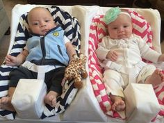 Twin Baby Feeding System | Table for Two