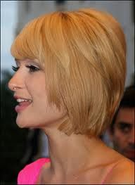Never thought I would like something on Paris HIlton, but the hair cut is kinda cute. Layered Bob Hairstyle Layered