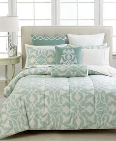 Barbara Barry Poetical Celadon Collection - Bedding Collections - Bed & Bath - Macy's
