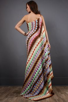 Outstanding Crochet: Vintage Crochet Dress.