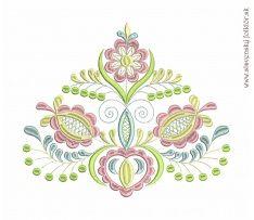 Výšivka Vajnory, rozmer 25x21 cm