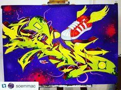 Soem Mac repost from @soemmac #soemmac #streetart #stree2lab #graffiti #art #arte #arteurbano #urbanart #graffitiporn #graffitiart #colors #urbanart #tags #igers #igersbcn #igersoftheday #igercatalunya