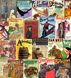 The Pulp Magazines project is putting up issues of the old school pulp mags. It's like Project Gutenburg, but with more awesome.