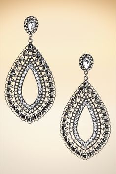 Marquise earrings #BostonProper #Holiday #Sparkle