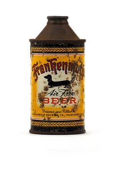 Old Frankenmuth Air Free Beer can, from Frankenmuth, Michigan.
