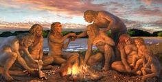 """Hominídeos na caverna do Planalto. """"Como nos livrar dos fósseis que rebaixam nosso presente e ameaçam o futuro de nossos filhos e netos?"""""""