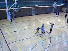 Gymnasium at Freestone Recreation Center in Gilbert