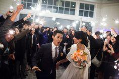 Bōm Photography – New York New Jersey Wedding Photographer | Tiff and Moses: #Maritime Parc #Wedding #sparkler #sendoff