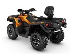 New 2016 Can-Am Outlander™ MAX Limited ATVs For Sale in California. For the rider who wants it all, we're got you covered. Featuring performance suspension, premium wheels, strategically placed controls, and unmatched versatility, the Outlander MAX LIMITED is the most luxurious ATV available.