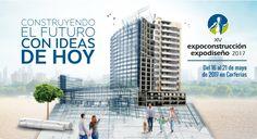 EXPORTAR ARQUITECTURA | EXPO CONSTRUCCIÓN Y EXPODISEÑO 2017  Llega la XIV versión de la feria EXPOCONSTRUCCIÓN Y EXPODISEÑO 2017 que se llevará a cabo del 16 al 21 de mayo del presente año, en la ciudad de Bogotá.  Más info: http://ly.cpau.org/2oRe7JC  #AgendaCPAU #COMEX