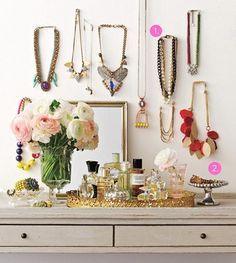Hanging Necklaces -