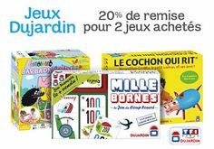 -20% pour 2 jeux Jeux TF1 Games ou Dujardin achetés : http://www.codereduc.com/code-reduction-amazon.html (expire le 24/11/2013)