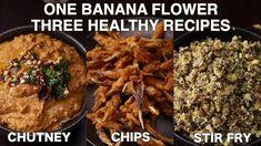 banana flower recipes | banana blossom recipes | how to clean banana flower - YouTube Healthy Indian Recipes, Easy Salad Recipes, Rice Recipes, Banana Blossom, Banana Flower, Java Rice Recipe, Grilling Recipes, Cooking Recipes, Prawn Salad