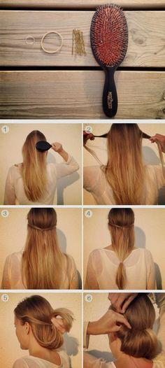стильные прическа на средние волосы фото урок