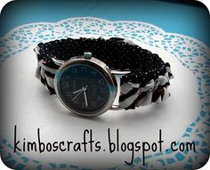 Alternative to beaded watch bands
