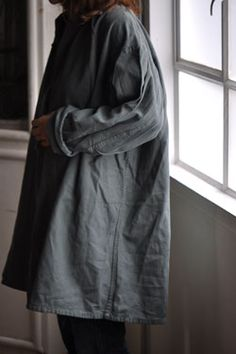 Swinging linen, from Eimeku. #grey, #fashion, #style