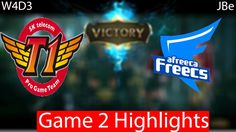 SKT vs Afreeca Game 2 Highlights W4D3
