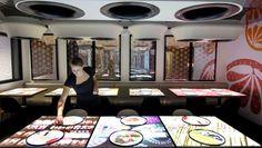 inamo restaurant, Soho, London - interactive oriental fusion restaurant.  134-136 Wardour Street  London, Greater London W1F 8ZP  020 7851 7051