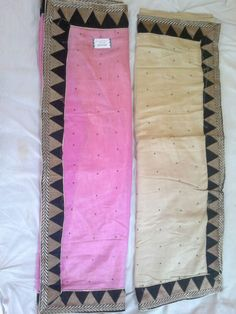 Party Wear Saree(available in two color) with ,border work & thread work