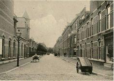 Copernicusstraat rond 1910, gezien vanaf de Beeklaan naar de Regentesselaan. The Hague, Once Upon A Time, Netherlands, Dutch, Street View, Europe, Black And White, City, Places
