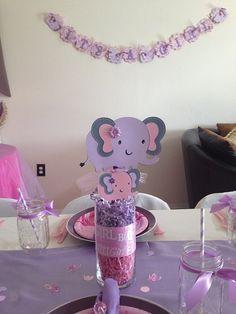 Elephant Centerpiece, Elephant Pick, Elephant Baby Shower, Elephant Birthday Skewers 6 pc Custom Made to Order on Etsy, $18.00