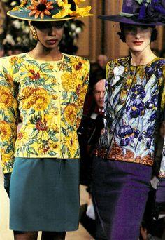 Yves Saint Laurent haute couture s/s 1988