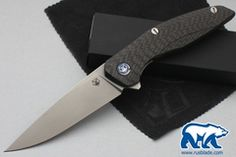 Shirogorov 111 M390 CF 3D Carbon Fiber MRBS
