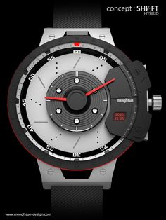 ..the awesome Shift Hybrid #concept watch.