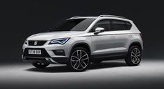 The SEAT Ateca SUV has been revealed ahead of a Geneva Motor Show debut as a sporty compact SUV as SEAT aims to cash in on the current SUV boom. Seat Marbella, Nuevo Seat, Honda Hr-v, Audi, Porsche, Automobile, Vw Tiguan, Suv Models, Auto Motor Sport