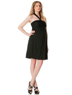A Pea in the Pod: Strapless Smocked Back Maternity Dress $79.50