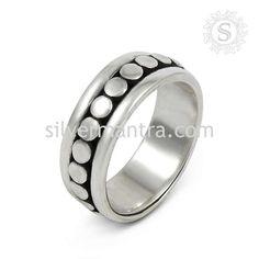 Beautiful!! Handmade 925 Sterling Silver Ring Jewelry