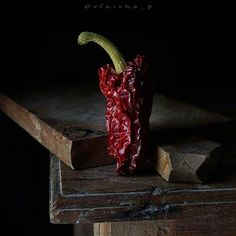 "187 Likes, 11 Comments - V E E (@vfriska_p) on Instagram: ""Page 1 #MyStill_Food Photography Project  DRIED PAPRIKA  Still playing with glow in the dark. Hope you have a…"""