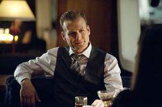 Gabriel Macht as Harvey Specter in Suits.