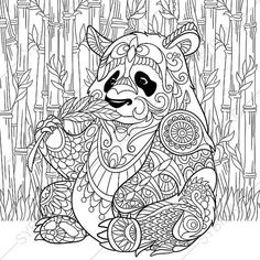 33 Best Panda Coloring Pages Images Easy Drawings How To Draw