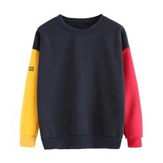 368e44bca2c Fall 2018 sweatshirt for women harajuku hoodie sweatshirt spell color  patchwork champion sweatshirt bluzy damskie zimowe